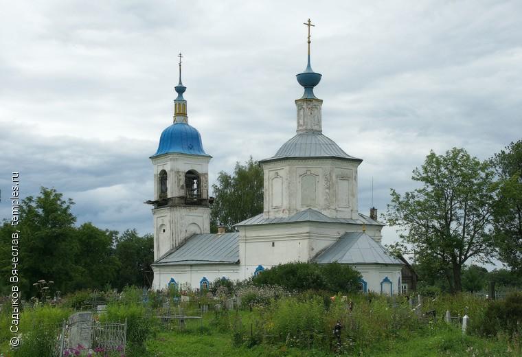Благовещенский храм в Дюдьково