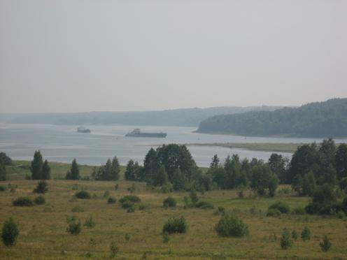 Вид с Хопылевского холма
