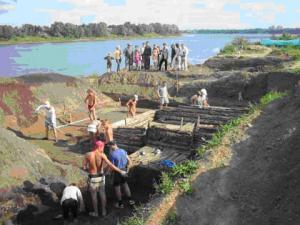 Археологические раскопки в Рыбинске