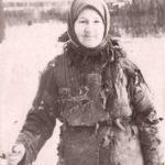 Евдокия Михайловна Баландина, телятница-ударница, 1944 г.