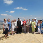 На горе Свержения в Назарете