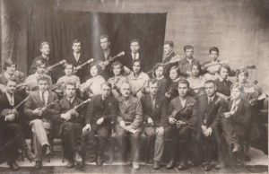 Первый состав оркестра П.И. Павлова